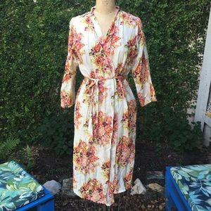 Other - Floral Cotton Dressing Gown